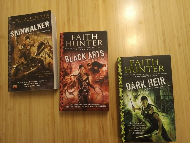Faith Hunter Books